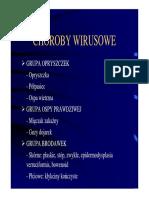 choroby wirusowe