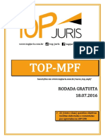 Rodada Gratuita Curso TOP MPF