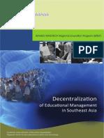 PolRes_DecentralizationOfEducationalManagementInSea