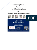 Study Guide - Truth About MACD01