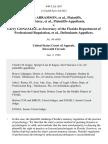 Judith Abramson, Donald Airey v. Larry Gonzalez, as Secretary of the Florida Department of Professional Regulation, 949 F.2d 1567, 11th Cir. (1992)
