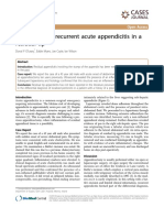 Case Report of Recurrent Acute Appendicitis in A