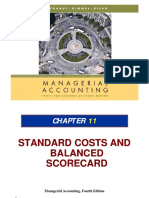 Ch11 Standards Costs and Balance Scorecards