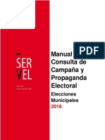 Manual Propaganda Servel