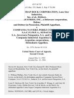 In Re New York Trap Rock Corporation, Lone Star Industries, Inc., Debtors. Lone Star Industries, Inc., a Delaware Corporation, Debtor and Debtor-In-Possession v. Compania Naviera Perez Companc, S.A.C.F.I.M.F.A., Sudacia, S.A., Inversora Patagonica, S.A. And Loma Negra Compania Industrial Argentina S.A., All Argentine Corporations, 42 F.3d 747, 2d Cir. (1994)