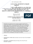 Eli Attia D/B/A Eli Attia Architects v. Society of the New York Hospital A/K/A the New York Hospital, Hellmuth Obata & Kassabaum, Inc., Taylor Clark Architects, Inc., and Hok/tca Associated Architechts, P.C., 201 F.3d 50, 2d Cir. (1999)