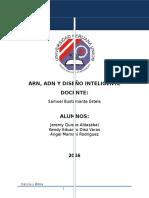 Adn Arn y Diseño Inteligente