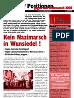 Gegen den Nazi-Aufmarsch in Wunsiedel 2005