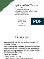 Web Analytics Tutorial
