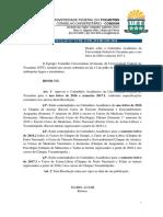 Resolução Consuni - Calendário Acadêmico UFT 2016