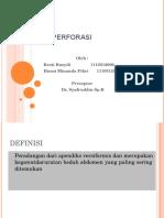 apendisitis perforasi
