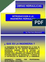 Introducción a la Ingeniería Hidráulica