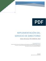 Active Directory FIIS-UNHEVAL