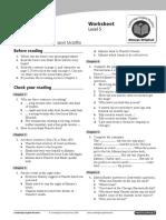 Cambridge English Readers Level5 Upper Intermediate Emergency Murder Worksheet