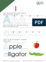 Free Alphabet Worksheets for Kids a-Z