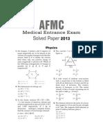 AFMC (Medical) Solved Paper 2013.pdf