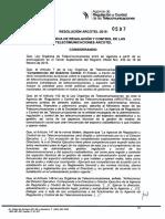 597_arcotel-2015 Pliegos Para Determinar Elasticidad de Cargos de Interconexion