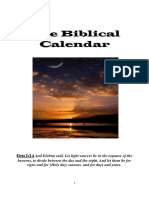 The Biblical Calendar Book