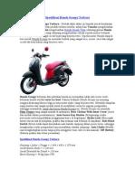 Spesifikasi Honda Scoopy Terbaru
