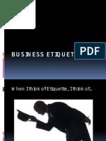 Business Ettiquete MDI