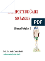 Aula 4 Transporte de Gases No Sangue