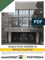 Mainstreet - Saskatoon Summer 16