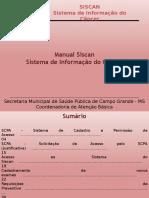 Manual Siscan - Prestadores de Serviço (2016)