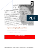 Implementing Health Identifiers - A Strategic Information Governance Review v3.0