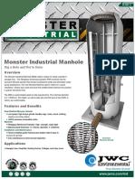 Monster Industrial Manhole