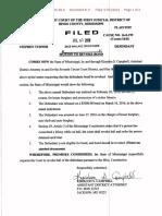Steve Turner Bond Revocation File