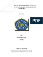 Analisis Perencanaan Sistem Prosedur Akuntansi Pembelian Dan Pemakaian