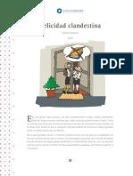 FELICIDAD CLANDESTINA