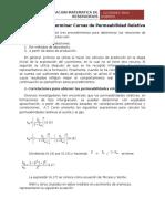 Metodos Para Determinar Curvas de Permeabilidad Relativa