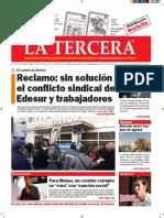 Diario La Tercera 03.08.2016