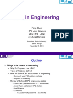 HPC in Engr Fall 2015