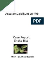 Ppt Snake Bite (2)
