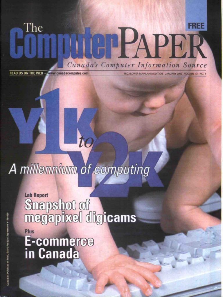 2000-01 the Computer Paper - BC Edition | Aol | Internet Service Provider
