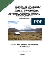 Estudio Geotecnico de Pre Inversión a Nivel de Perfil-tanta