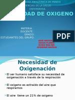 Nesesidad Ade Oxigeno