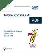 Customer Acceptance R12_12713