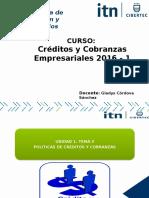 Políticas de Créditos y Cobranzas  y Requisitos del Crédito.pptx
