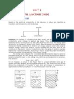 edc unit 1 PN diode