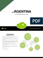 Guia de turismo argentina 2