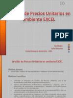 Analisis Precios Unitarios en Ambiente