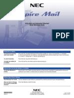 Aspire Voicemail & Auto Attendant Quick Guide