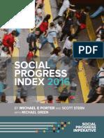 Social Progress Index 2016