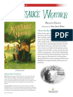 Applesauce Weather Discussion Guide