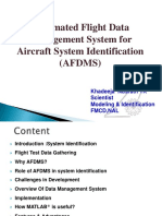 Automated Flight Data Management System for Aircraft System Identification
