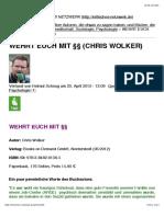 Wehrt Euch Mit §§ (Chris Wolker)