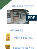 Catalogo Pets